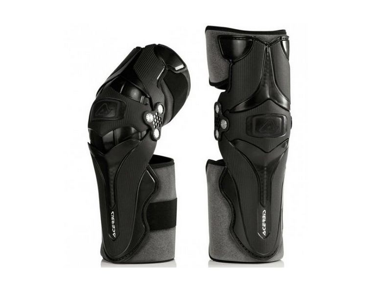 Защита коленей Acerbis X-Strong Knee black white